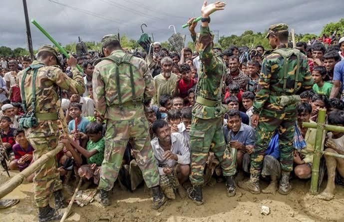 Muslim Rohingya genosida