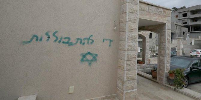 Masjid vandalisme palestina