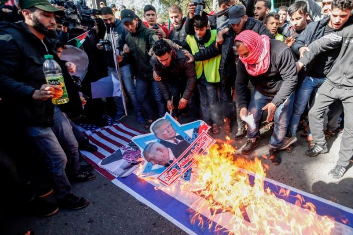 demo proposal damai palestina israel
