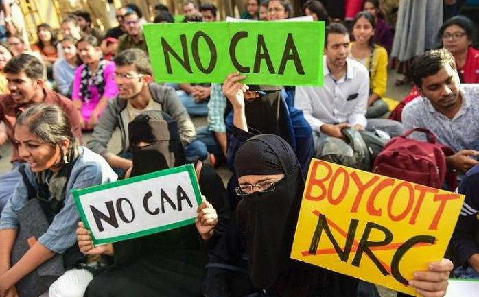protes UU Kewarganegaraan di Chennai