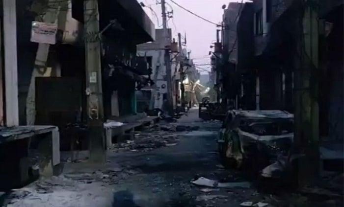 Kampung Muslim India Dibakar