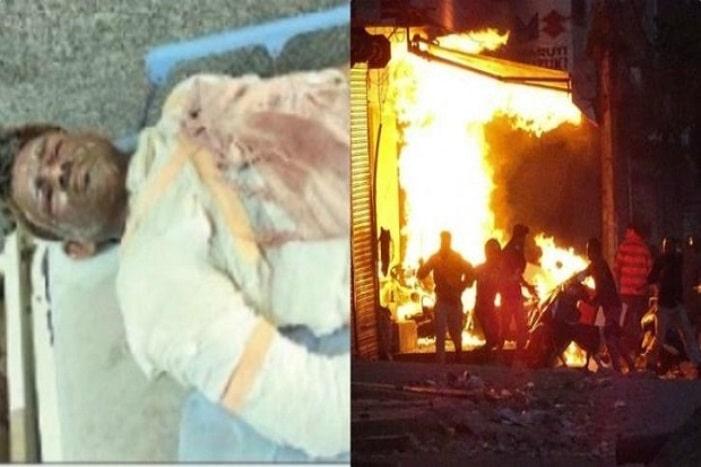 Orang Hindu terbakar selamatkan muslim