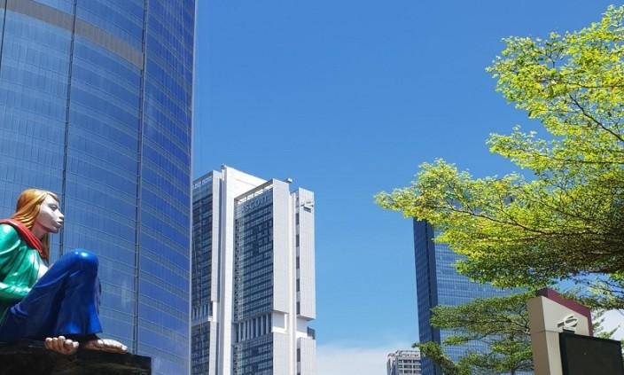 Langit Biru Jakarta