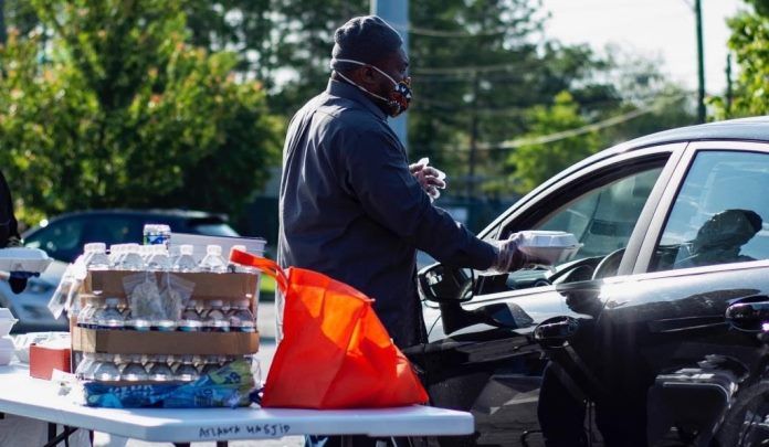 Muslim Atlanta Takjil Drive Thru