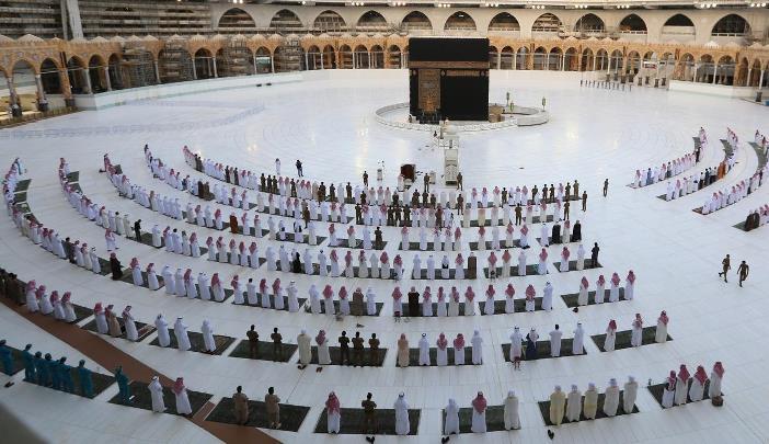 salat idul fitri masjidil haram