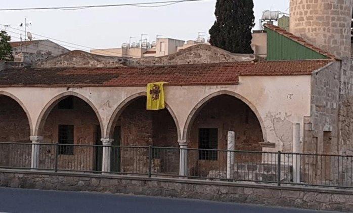 Bendera Byzantium Di Masjid Tuzla