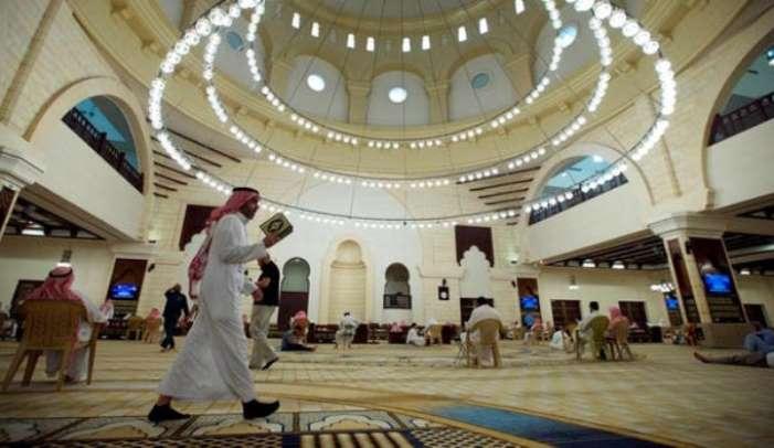 Masjid Arab Saudi Corona