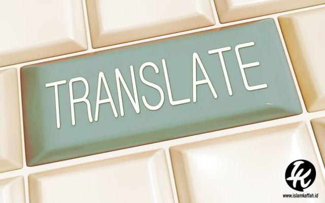 Kaidah Penerjemah