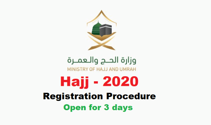 Hajj 2020 Procedure