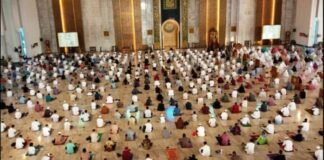 Salat Idul Adha Di Masjid Al Akbar