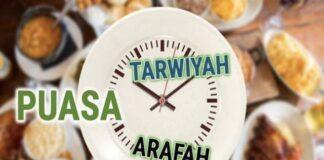 Niat Puasa Tarwiyah Dan Arafah