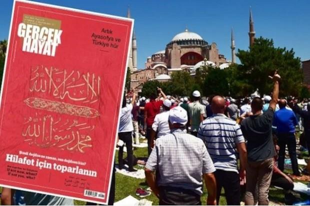 Serukan Kekhalifahan Islam Majalah Turki Proerdogan Panen Kecaman Smj