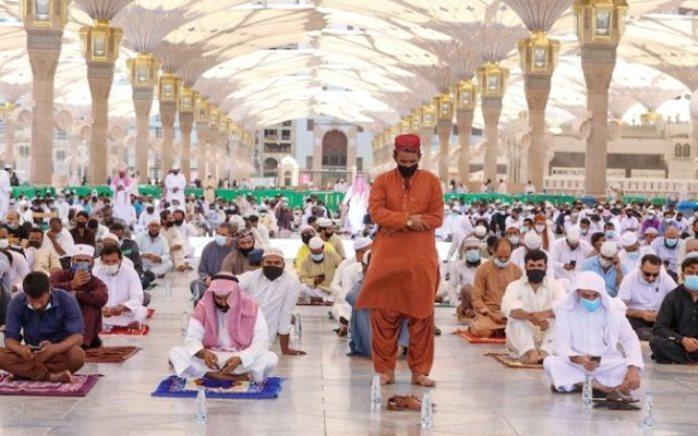 Masjid Nabawi Gelar Salat Jumat Terakhir 1441H