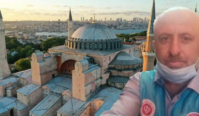Muadzin Hagia Sophia Wafat