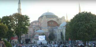 Salat Idul Adha Di Hagia Sophia