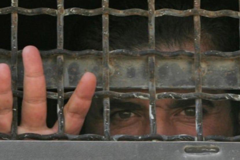Salah Seorang Tahanan Palestina Di Penjara Israel Ilustrasi 140910005908 451