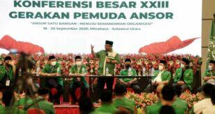 konferensi besar xxxiii gerakan pemuda gp yang digelar di 200921075525 353