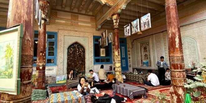 Masjid Diijadikan Kafe Di Xinjiang