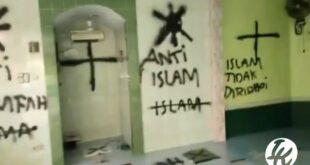 Vandalisme Mushalla
