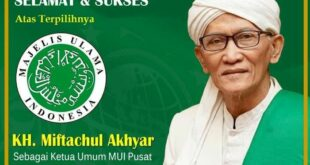 Ketum Mui Kh Miftachul Akhyar