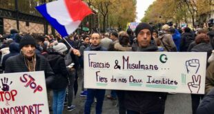 Demo Anti Islamofobia Di Prancis