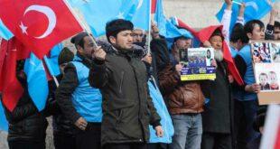 Muslim Uighur Demo Konsulat China (voice Of America)
