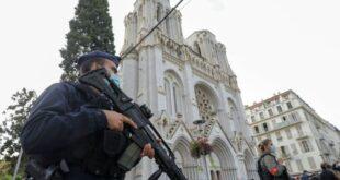 Polisi Berjaga Di Tempat Kejadian Muslim Diserang Muslim Lainnya Di Prancis
