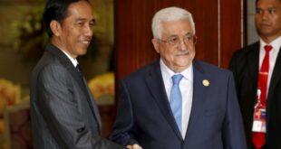 Presiden Jokowi dan Presiden Palestina Mahmoud Abbas