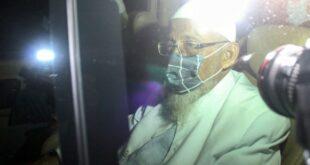 Abu Bakar Baasyir Saat Meninggalkan Lapas Gunung Sindur (inews.id)