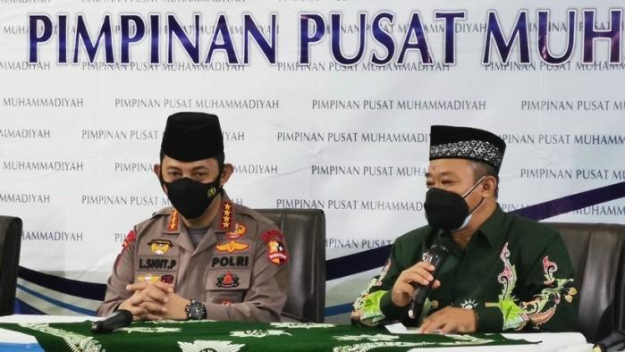 Kapolri Jenderal Listyo Sigit Prabowo Di Muhammadiyah