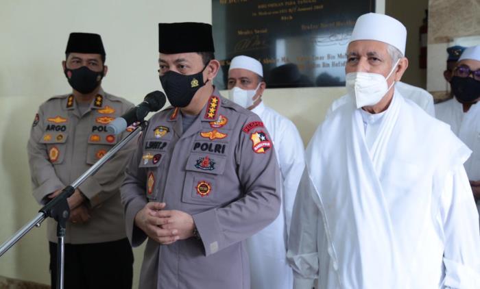 Kapolri Jenderal Listyo Sigit Prabowo Di Rabithah Alawiyah