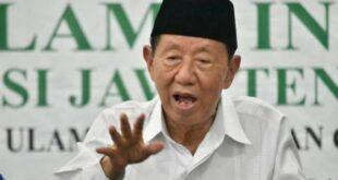 Ketua Umum Mui Jawa Tengah Kh Ahmad Darodji