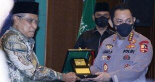Ketua Umum Pbnu Kh Said Aqil Siroj Dan Kapolri Jenderal Listyo Sigit Prabowo (nu Online)