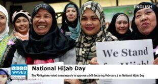 Dpr Filipina Setuju1 Februari Sebagai Hari Hijab Nasional