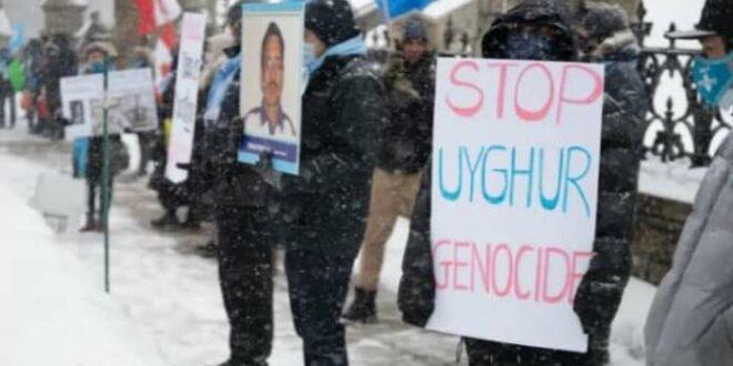 demo genosida uighur