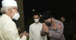 Kapolri Kunjungi Ketua Umum Kh Miftahul Akhyar (detikcom)
