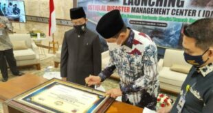 Launching Istiqlal Disaster Management Center