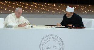 Paus Franciskus dan Imam Besar Al Azhar