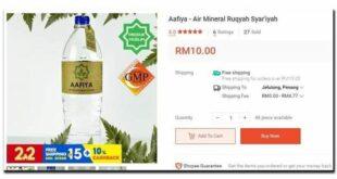 Penjualan Air Ruqyah Melalui Online Di Malaysia