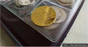 poto uang dinar dan dirham