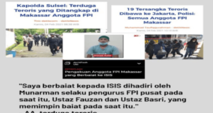 Terduga teroris mengaku berbaiat ke ISIS disaksikan Munarman