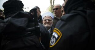 sheikh ekrima sabri ditangkap polisi israel