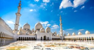 syeikh zayed grand mosque di abu dhabi