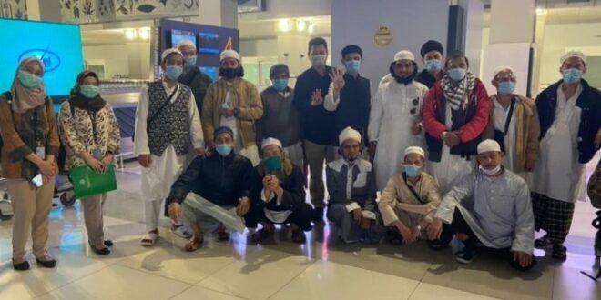 WNI Jamaah Tablih dipulangkan dari India