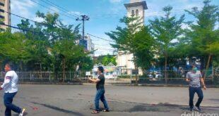lokasi ledakan di makassar ibnu munsirdetikcom 169