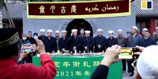 Buka puasa komunitas Muslim di Beijing