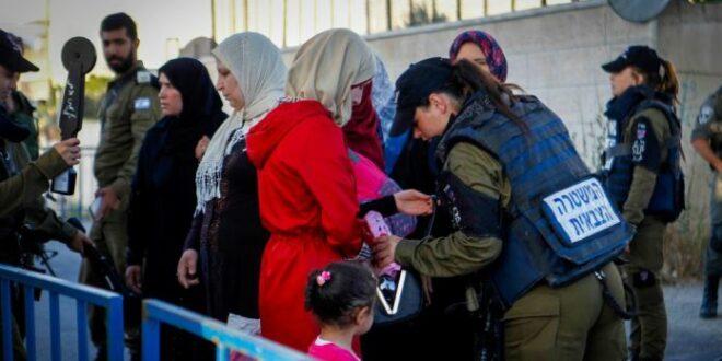 Polisi Israel periksa ketat umat Muslim yang akan ke Masjid Al Aqsa