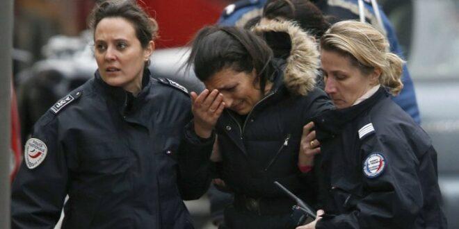 Polwan ditikam di Paris