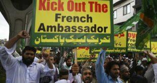 protes umat islam pakistan terhadap islamofobia di prancis