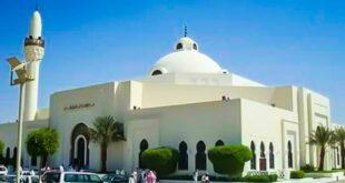 salah satu masjid di kota riyadh